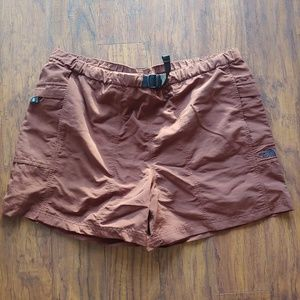 Men's North Face running shorts Large